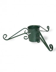 Decorative metal tree stand green